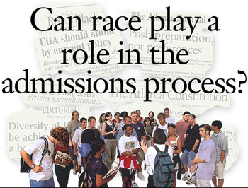 Should affirmative action be banned in college admissions?